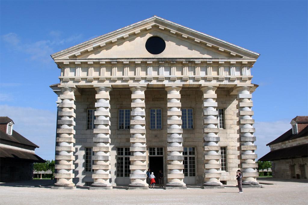 Galerie de photographies la saline royale d 39 arc et for Architecture des batiments