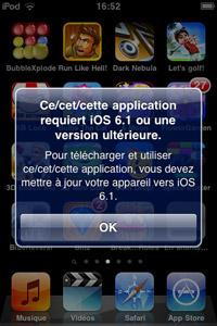 Fuck you vieil iOS
