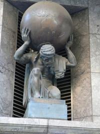 Atlas, qui porte le monde sur son dos (mythologie)