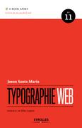 Typographie web, de la collection A book Apart, par Jason Santa Maria