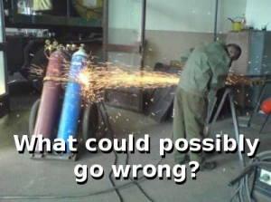 Que pourrait-il mal se passer ?