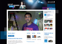 Page d'accueil HUG Video Awards