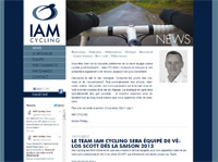 Page d'accueil IAM Cycling