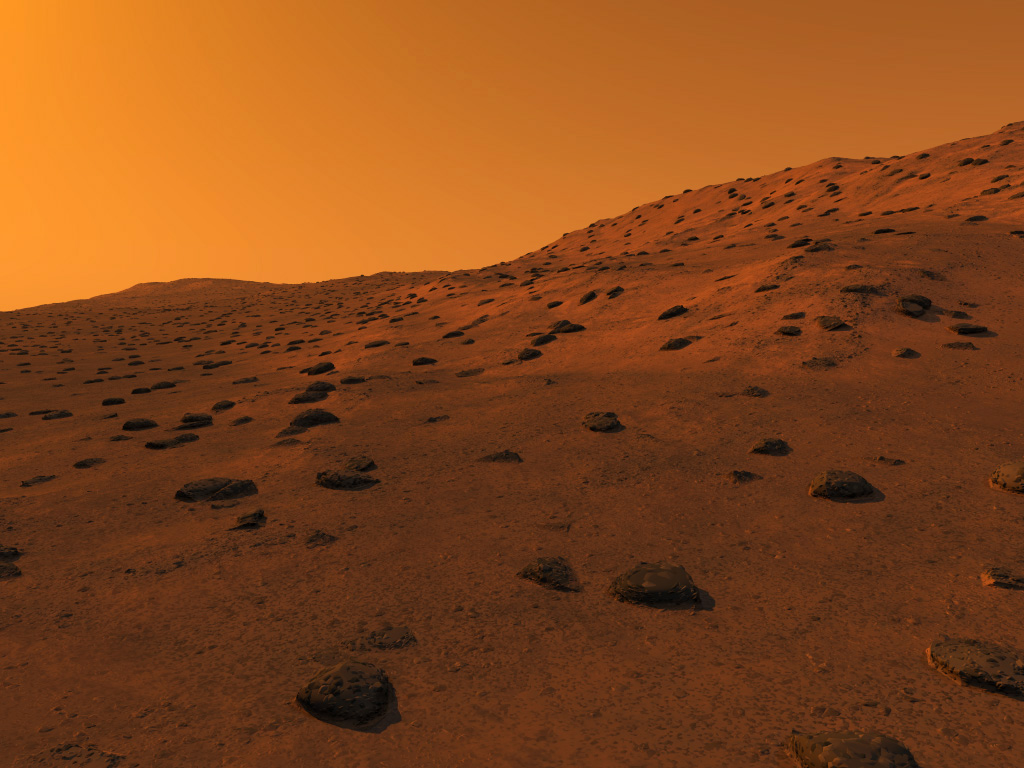 Mars is the fourth planet from the Sun and is commonly referred to as the Red Planet The rocks soil and sky have a red or pink hue