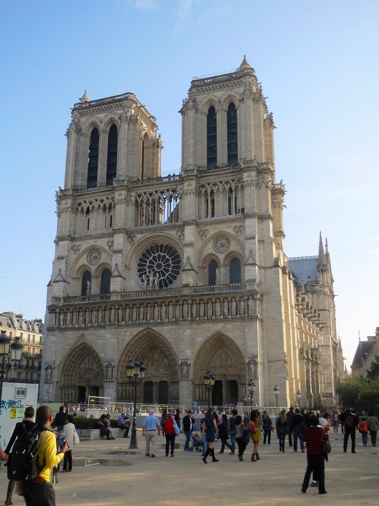 Galerie de photographies la cath drale notre dame de for Les photos de paris