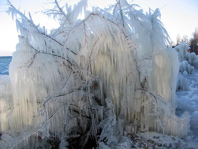 galerie de photographies   yvoire sous la glace  1  2